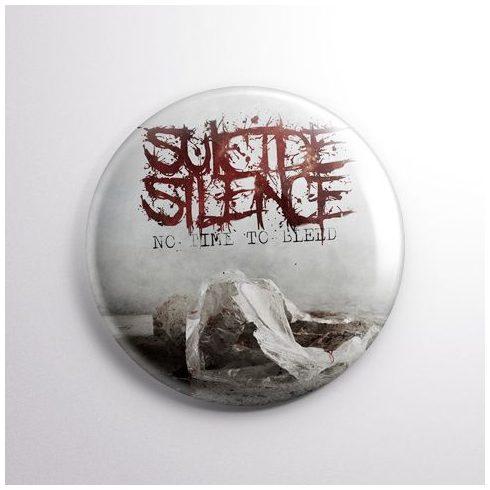 Suicide Silence - No Time kitűző