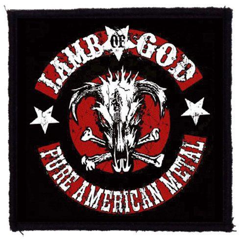 Lamb Of God - Pure American Metal felvarró