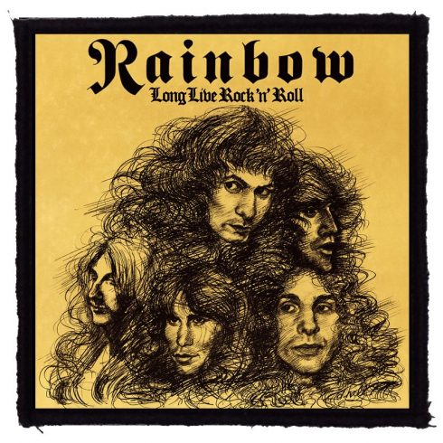 Rainbow - Long Live felvarró