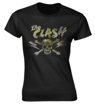 The Clash - GRUNGE SKULL női póló