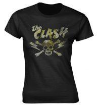 The Clash - GRUNGE SKULL női póló