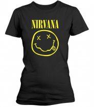 Nirvana - SMILEY LOGO női póló