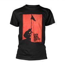 U2 - BLOOD RED SKY póló