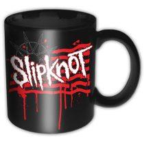 Slipknot -  Dripping Flag & Logo bögre