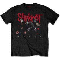 Slipknot - WANYK Logo (Back Print) póló