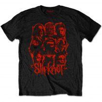 Slipknot - WANYK Red Patch (Back Print) póló