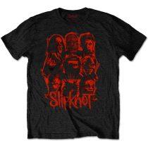 Slipknot - WANYK Red Patch (Back Print) póló