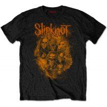 Slipknot - WANYK Orange (Back Print) póló