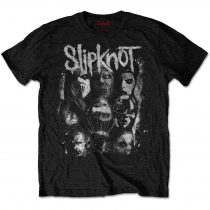 Slipknot - WANYK White Splatter (Back Print) póló