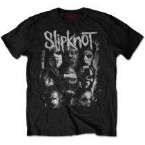 Slipknot - WANYK White Splatter (Back Print) póló
