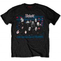 Slipknot - WANYK Glitch Group (Back Print) póló