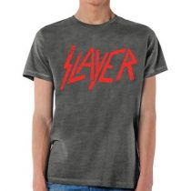 Slayer - Distressed Logo póló