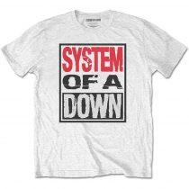 System of a Down - Triple Stack Box póló