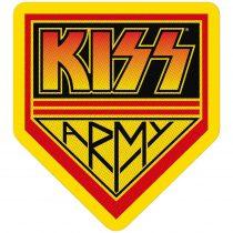 Kiss - Kiss Army (szőtt) felvarró