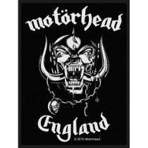 Motorhead - England (szőtt) felvarró
