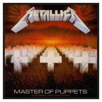 Metallica - Master of Puppets (szőtt) felvarró