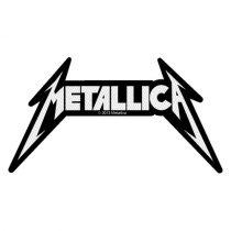 Metallica - Shaped Logo (szőtt) felvarró