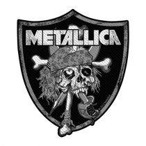 Metallica - Raiders Skull (szőtt) felvarró