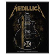 Metallica - Hetfield Guitar (szőtt) felvarró