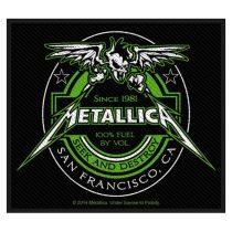 Metallica - Beer Label (szőtt) felvarró