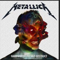 Metallica - Hardwired to Self Destruct (szőtt) felvarró