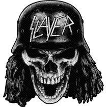 Slayer - Wehrmacht Skull (szőtt) felvarró