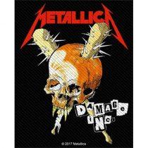 Metallica - Damage Inc (szőtt) felvarró