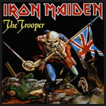 Iron Maiden - The Trooper (szőtt) felvarró