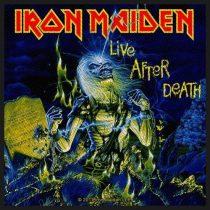 Iron Maiden - Live After Death (szőtt) felvarró