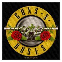 Guns N' Roses - Bullet Logo (szőtt) felvarró