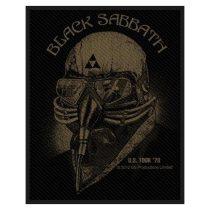Black Sabbath - US Tour 1978 (szőtt) felvarró