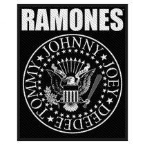 Ramones - Classic Seal (szőtt) felvarró