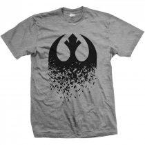 Star Wars - Episode VIII Rebel Logo Splintered póló