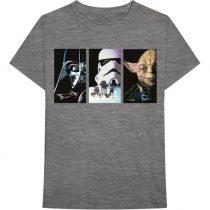 Star Wars - Tri VHS Art póló
