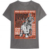 Star Wars - Droids Rock póló