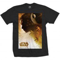 Star Wars - Rogue One Jyn Silhouette póló