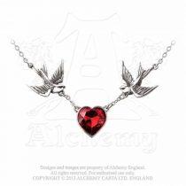 Alchemy Swallow Heart nyaklánc