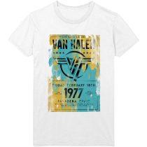 Van Halen - Pasadena '77 póló