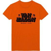 Van Halen - World Tour '78 póló