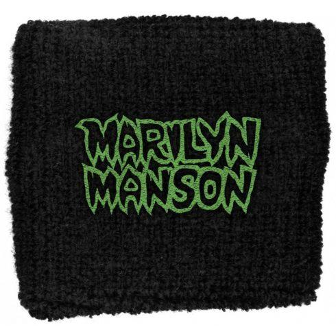 Marilyn Manson - Logo csuklószorító