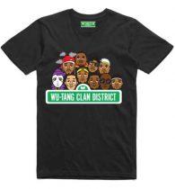 Wu-Tang Clan - Sesame Street (Ex Tour/Back Print) póló